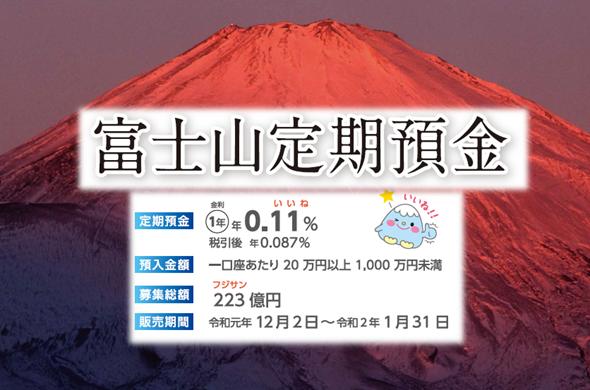 富士山定期預金